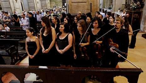 Alumnos de Música en Compostela