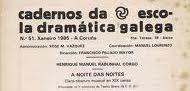 Cadernos da Escola Dramática Galega