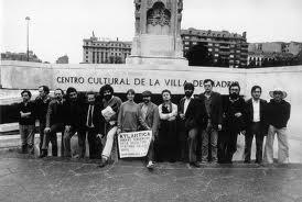 Grupo Atlántica en Madrid. Francisco Mantecón