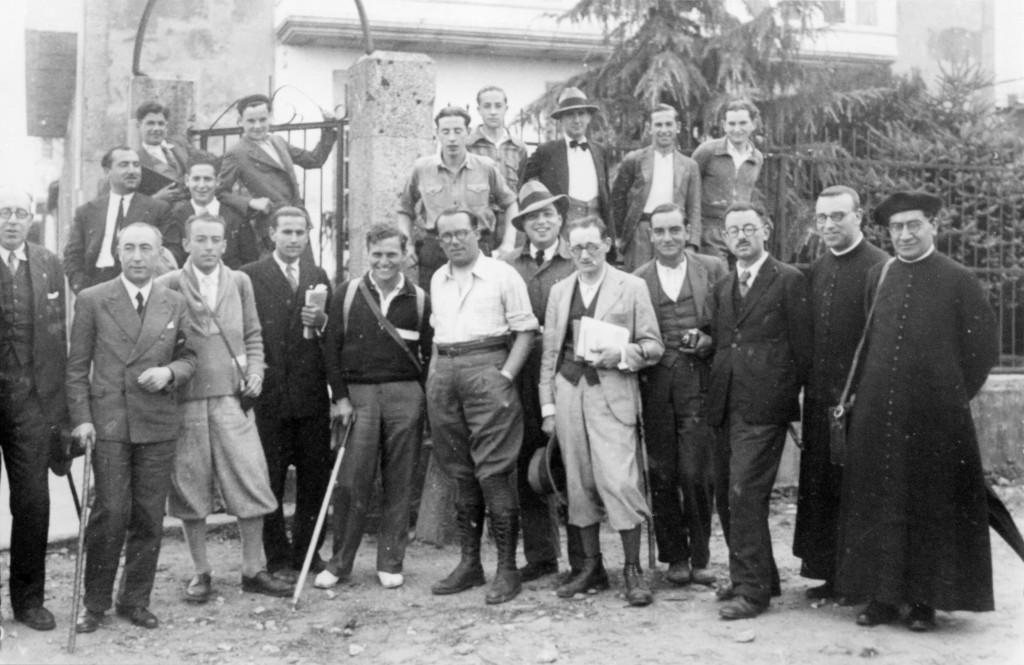 Membros do Seminario de Estudos Galegos en 1934